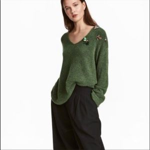 H&M Wool blend oversized slouchy sweater